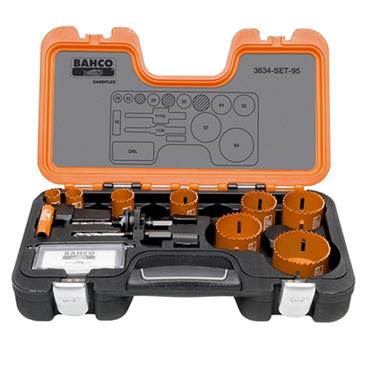 Bahco 3834-SET-95 Professional Holes Saw Kit