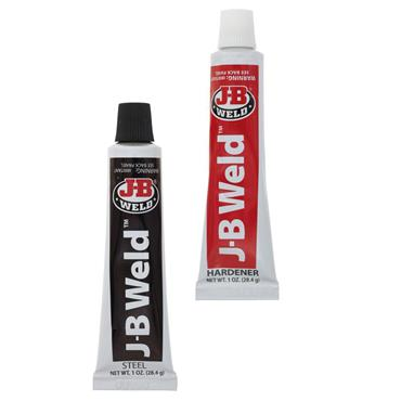J-B Weld 8265-S 28ml Twin Pack Tube Grey Epoxy Adhesive