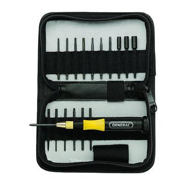 General Tool 63518 18 Piece Mixed Precision Screwdriver Set
