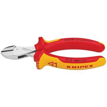 Knipex 73 06 160mm VDE X Cut Cutting Pliers