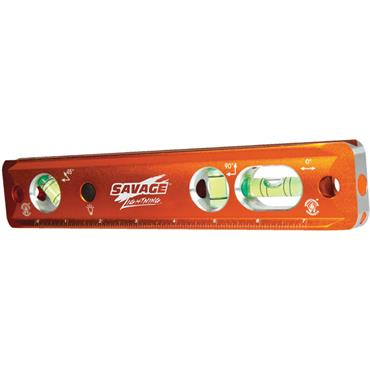 "Swanson TLL049M 9"" Magnetic Lighted Torpedo Level"
