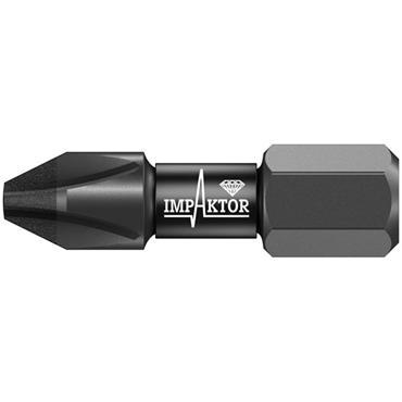 Wera 851/1 IMP DC Phillips Impaktor Bits - 10 Pack
