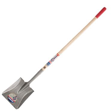 True Temper 1564200 Long Handle Square Point Shovel