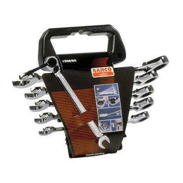 Bahco 1RM/SH6 6 Piece Metric Ratchet Combination Wrench Set