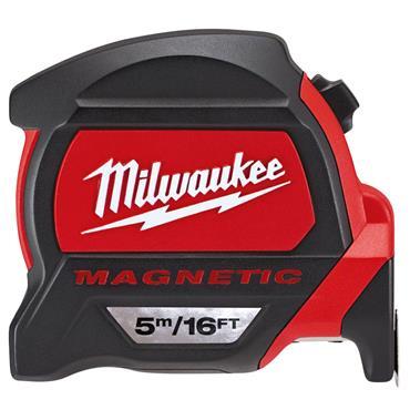 Milwaukee 48227216 5m Premium Magnetic Metric/Imperial Measuring Tape