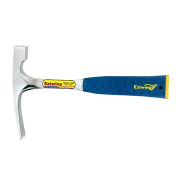Estwing 20oz Brick Hammer with Vinyl Grip E3-20BLC - Blue