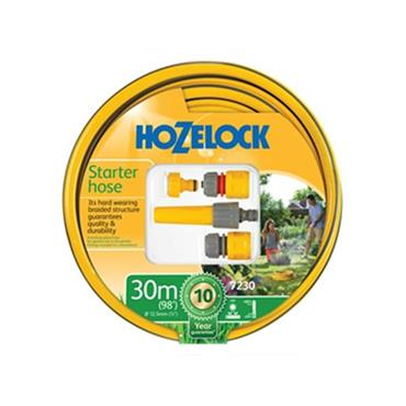 Hozelock 72309000 30m Hose Starter Set with Accessories