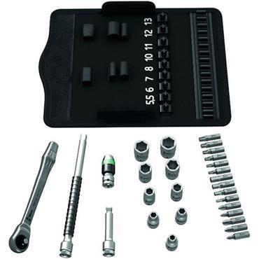 "Wera 8100 SA 7 28 Piece Metric 1/4"" Drive Ratchet Socket Set"