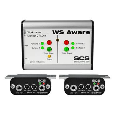 SCS CTC061-3-243-WW - WS Aware Monitor, 4.20MA Out, Big Brother Remotes