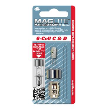 Maglite LMXA601 6 Cell Mag-Num Star II Xenon Replacement Lamp