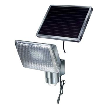Brennenstuhl LED spotlight SOL / LED luminaire for outdoor use with motion detector and solar panel