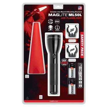 Maglite ML50L-I201G LED Flashlight With Safety Pack