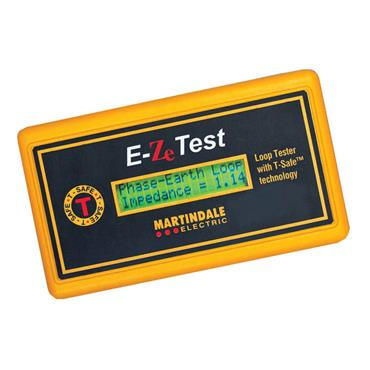 MARTINDALE E-Ze TEST Non-Trip Earth Loop Impedance Indicator