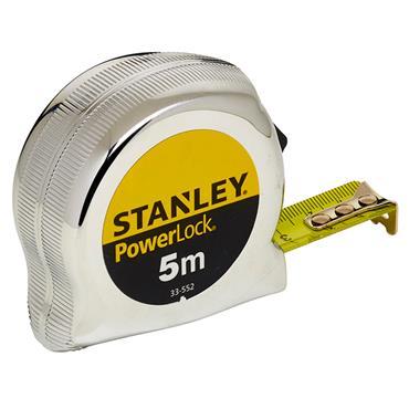 Stanley 0-33-552 5m Micro Powerlock Classic Metric Measuring Tape