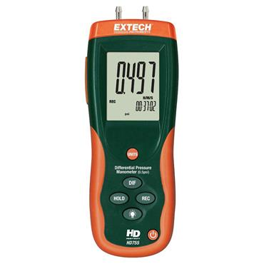 Extech HD755 Differential Pressure Manometer