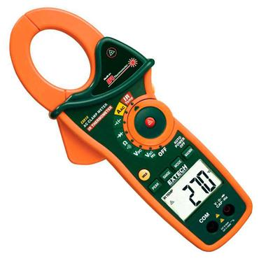 Extech EX840 AC/DC True RMS Clamp/DMM + IR Thermometer