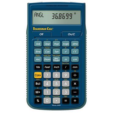 Calculated Industries 4400 Trades Math and Conversion Calculator