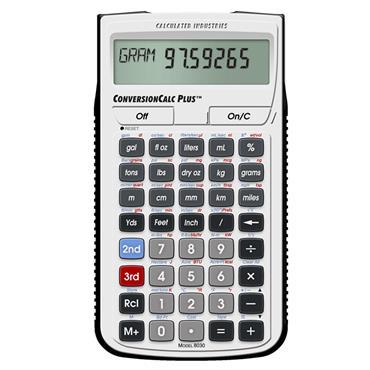 Calculated Industries 8030 ConversionCalc Plus Ultimate Professional Conversion Calculator