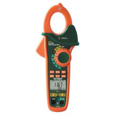 Extech EX623 Dual Input AC/DC Clamp Meter + NCV + IR Thermometer