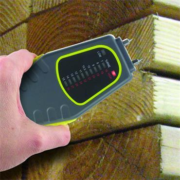 General Tools MM1E Pin-Type Led Bar Graph Moisture Meter