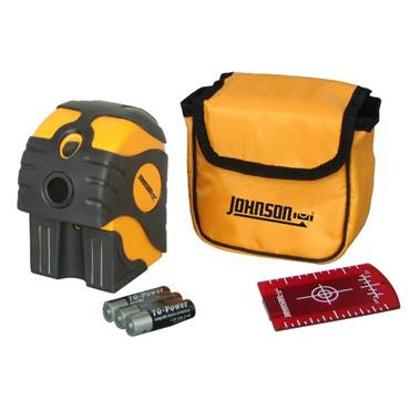Johnson 40-6670 Self-Levelling 2-Beam Dot Laser Level