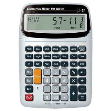 Calculated Industries 44080 Advanced Desktop Construction Math Calculator