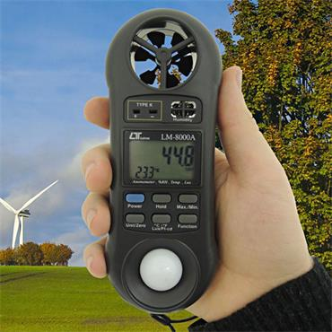 ATP 4-in-1 Environment Anemometer and Calibration Certificate