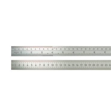 BMI Stainless Steel Metal Rulers