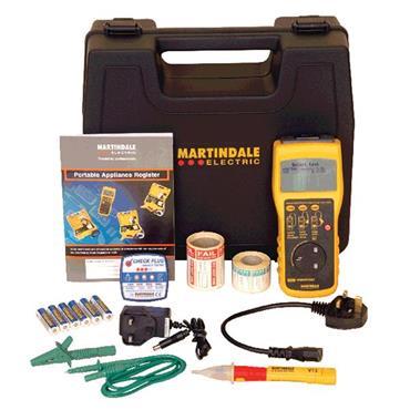 MARTINDALE  HPAT500 PAT Tester Kit1