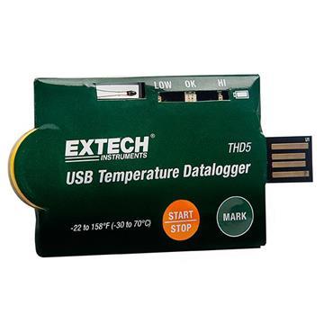 Extech THD5 USB Temperature Datalogger - 10 Pack