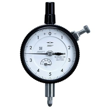 """Mitutoyo 2923S-10 0.05""""/0.01"""" Lug Back Plate Standard Type Dial Indicator"""