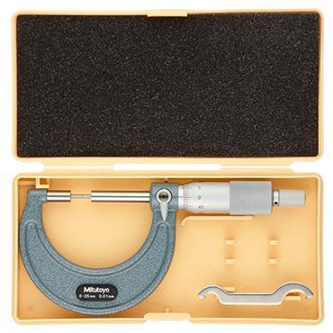 Mitutoyo 111-115 0-25mm Vernier Spline Micrometer