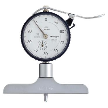 Mitutoyo 7212 0-200 mm Dial Type Depth Gauge