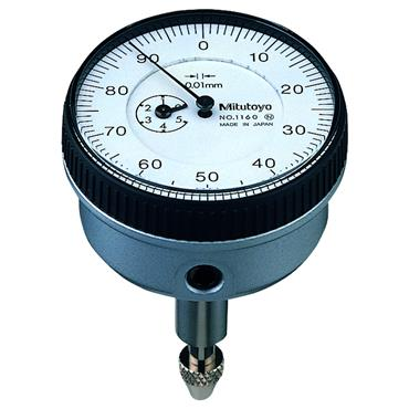 Mitutoyo 1160 5mm Back Plunger Dial Indicator