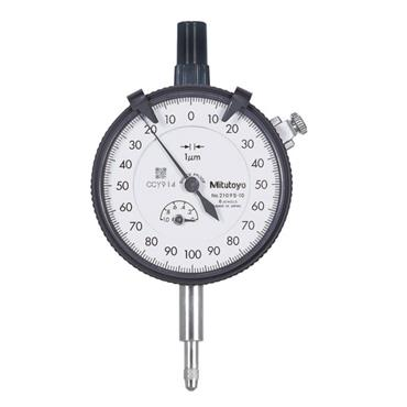Mitutoyo 2110S-10 1mm/0.1mm Flat Back Dial Indicator