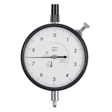 """Mitutoyo 3802S-10 0.025""""/0.01"""" Lug Back Plate Dial Indicator"""