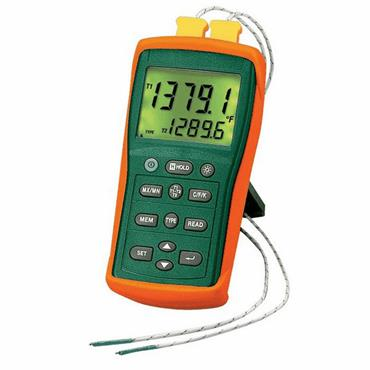 Extech EA15 EasyView Dual Input Temperature/Datalogger