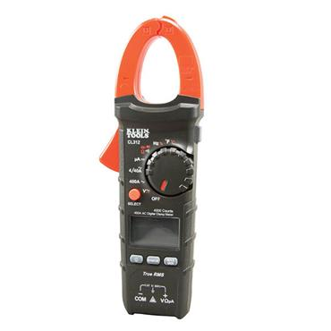 KLEIN TOOLS CL312  HVAC Digital Clamp Meter, 400 Amp AC Auto-Ranging