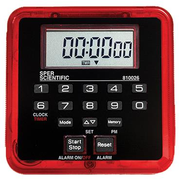 CITEC 810026R Count Up/Count Down Timer
