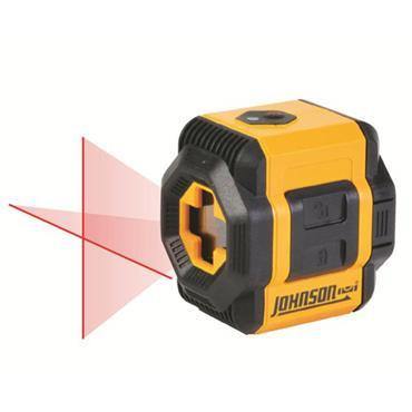 Johnson Level  40-6603 Self-Leveling Cross-Line Laser