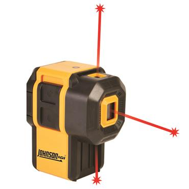 Johnson Level 40-6646 Self-Leveling 3 Dot Laser
