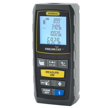 General Tool TS01 ToolSmart Bluetooth Connected Laser Measure