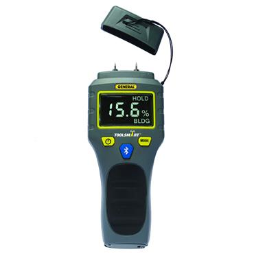 General Tools TS06 ToolSmart Bluetooth Digital Moisture Meter
