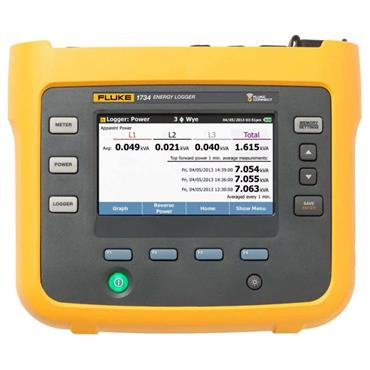 Fluke 1732 Advanced Three-Phase Electrical Energy Logger