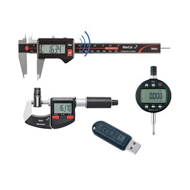 Mahr 9106998 Digital Calipers Kit with Wireless Receiver