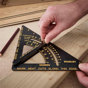 """Stanley ST46-053 6"""" Quick Square Layout Tool"""