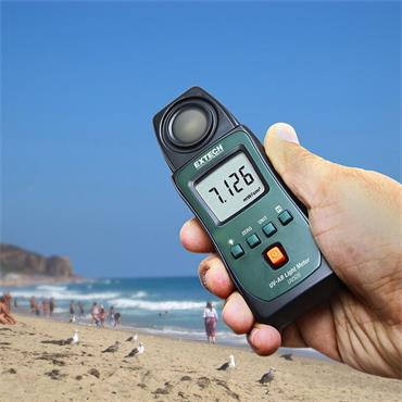 Extech UV505 Pocket UVA/UVB Light Meter