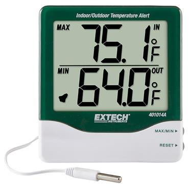 Extech 401014A Big Digit Indoor/Outdoor Temperature Alert