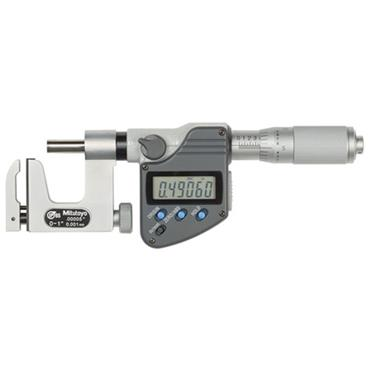 Mitutoyo 317-351-30 Universal Micrometer Range 0-1''/0-25mm Resolution .00005''/.001mm With output