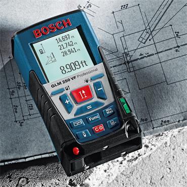 Bosch GLM 250VF Laser Rangefinder / Distance Measurer